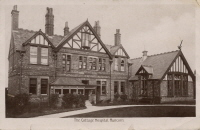 The Cottage Hospital,Runcorn, in 1910